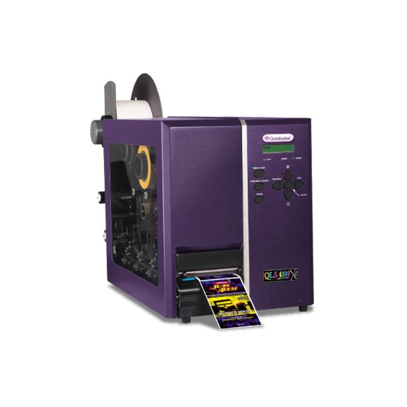 QLS-4100-Xe-四色热转印工业级彩色标签打印机