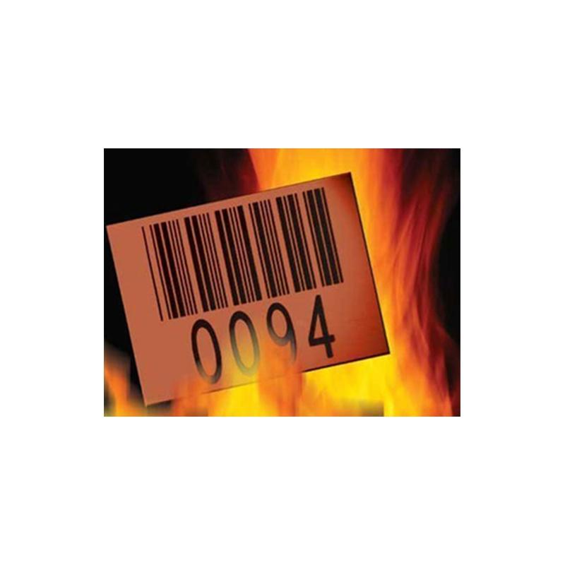 高低温不干胶标签 固定资产标签
