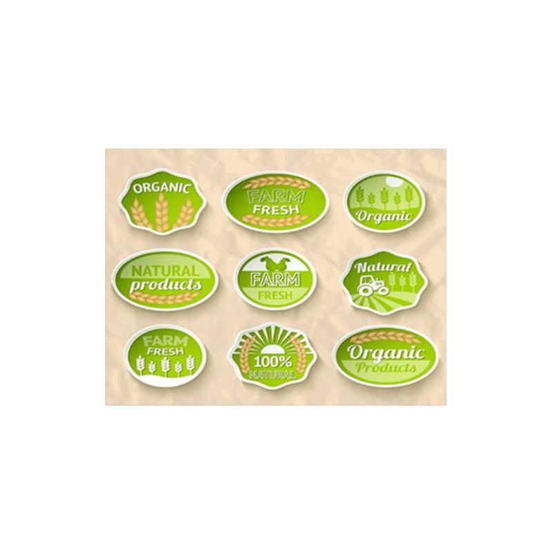 食品类不干胶标签 固定资产标签